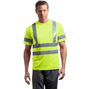 Cornerstone® ANSI 107 Class 3 Short Sleeve Snag Resistant Reflective T-Shirt