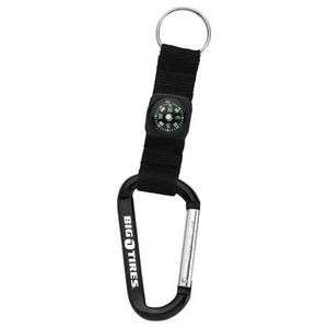 Carabiner with Compass