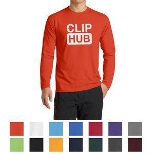 Port & Company® Long Sleeve Performance Blend Tee